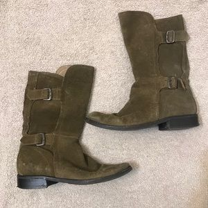 Matisse Footwear Tradition Suede Buckle Boots